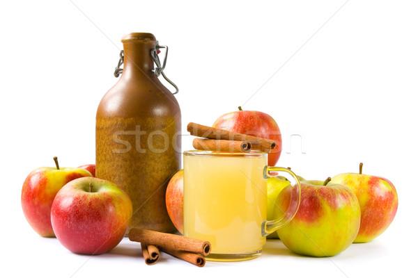 Apple wine Stock photo © IngaNielsen