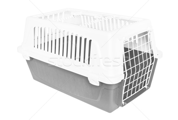 Pet carrier Stock photo © IngaNielsen