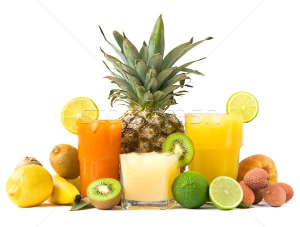 Tropical juices Stock photo © IngaNielsen