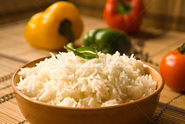 Basmati rice Stock photo © IngaNielsen