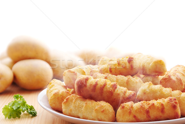 Croquettes Stock photo © IngaNielsen