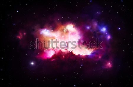 Colorful nebula Stock photo © IngaNielsen