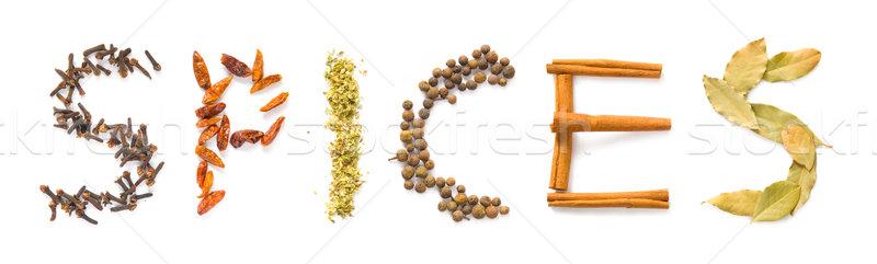 Spices Stock photo © IngaNielsen