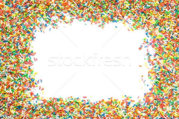 Sprinkles frame Stock photo © IngaNielsen