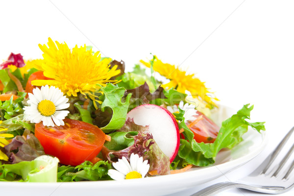 Summer salad Stock photo © IngaNielsen