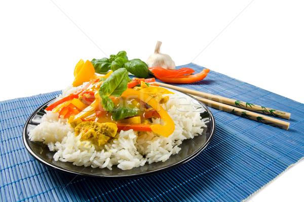 Asian food Stock photo © IngaNielsen