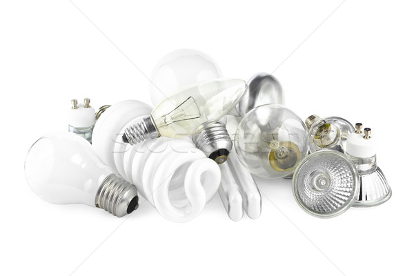 Light bulbs Stock photo © IngaNielsen