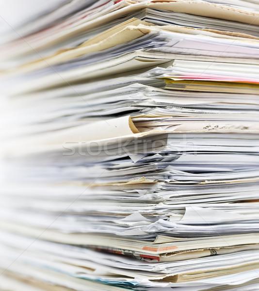 Recycling paper Stock photo © IngaNielsen