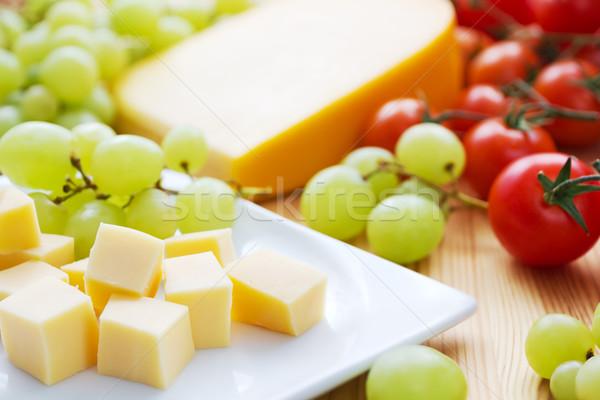 Cheese snack Stock photo © IngaNielsen