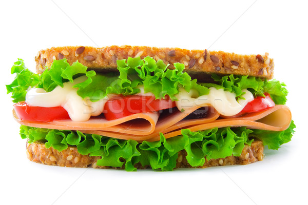 Sandwich Stock photo © IngaNielsen