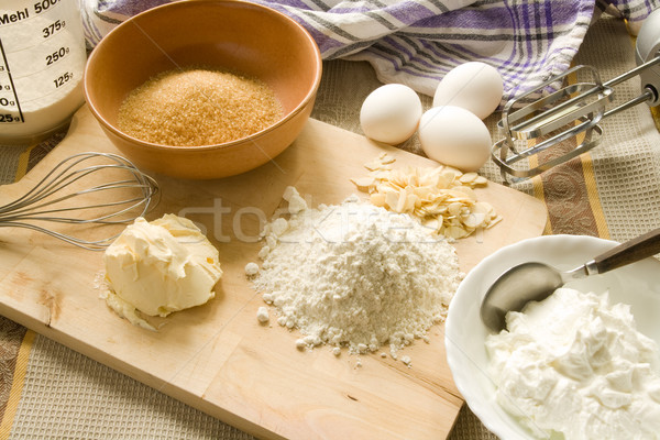 Stock photo: Baking