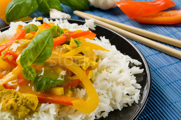 Asian food Stock photo © IngaNielsen