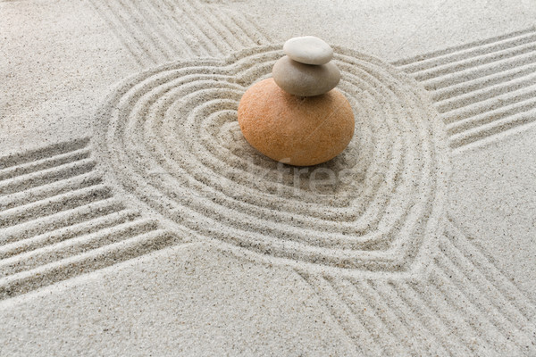 Zen garden Stock photo © IngaNielsen