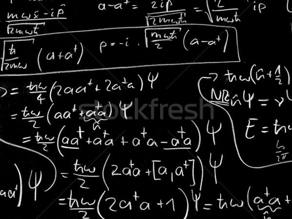 Quantum mechanics Stock photo © IngaNielsen
