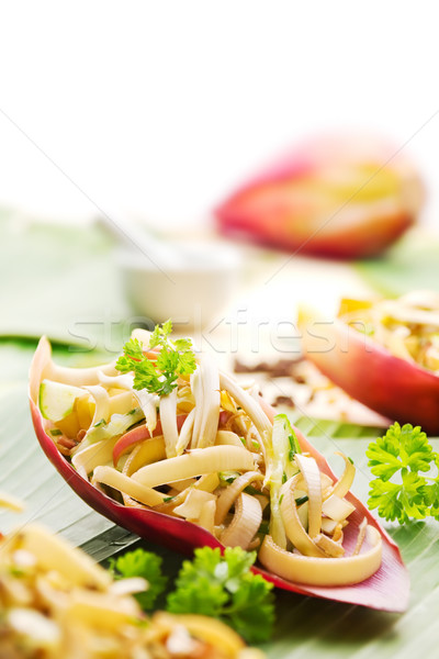 Banana flower salad Stock photo © IngaNielsen