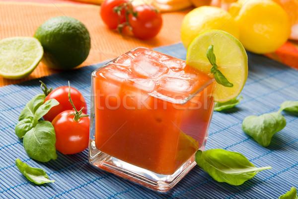 Cocktail Dekoration Trinken Tomaten Alkohol Saft