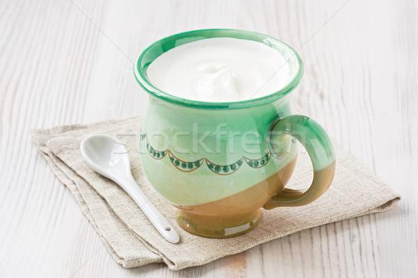 Sour cream Stock photo © IngridsI
