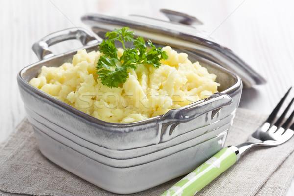 Mashed potato Stock photo © IngridsI