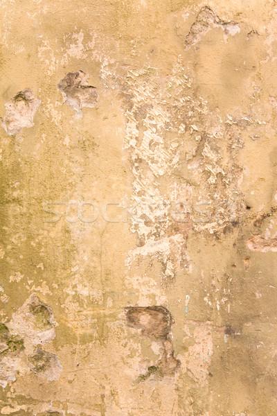 Eski boyalı duvar doku ışık bağbozumu Stok fotoğraf © inoj