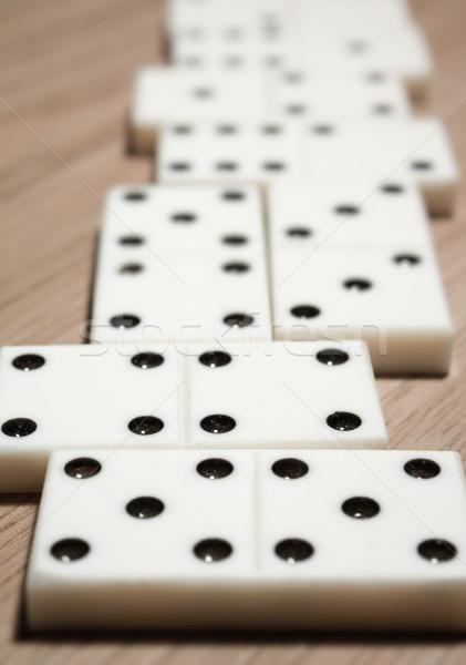 Domino  Stock photo © inoj