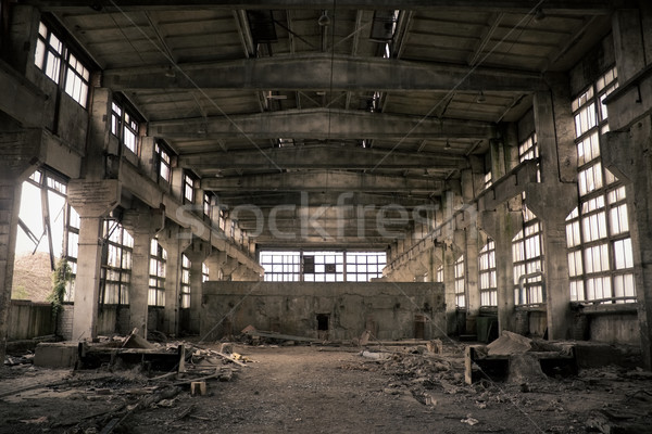 Abandoned Industrial interior Stock photo © inoj