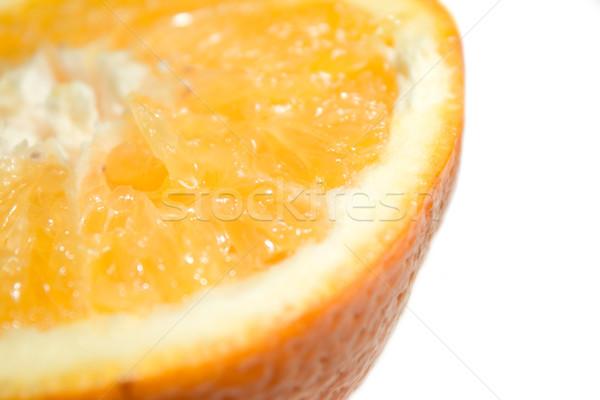 クローズアップ オレンジ 食品 フルーツ 背景 熱帯 ストックフォト © inoj