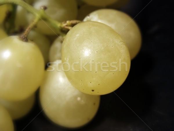 クローズアップ ブドウ 黒 食品 自然 緑 ストックフォト © inoj