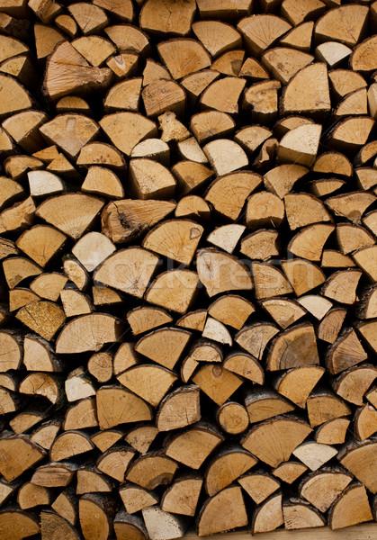 Yakacak odun doku ağaç arka plan hayat Stok fotoğraf © inoj
