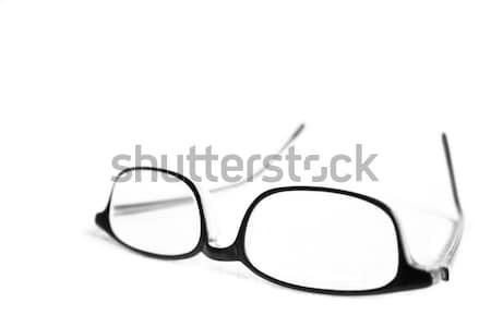 眼鏡 孤立した 白 ファッション 健康 背景 ストックフォト © inoj