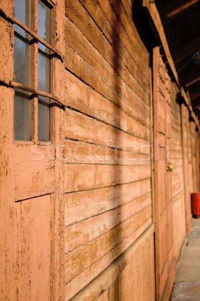 古い 倉庫 ビジネス 市 壁 ホーム ストックフォト © inoj