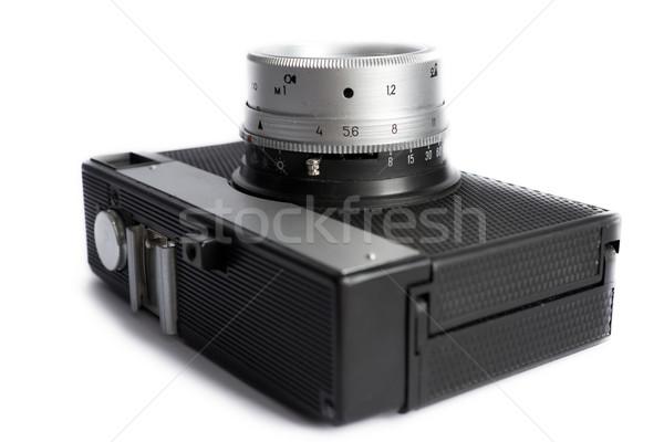 古い カメラ 孤立した 白 技術 ガラス ストックフォト © inoj