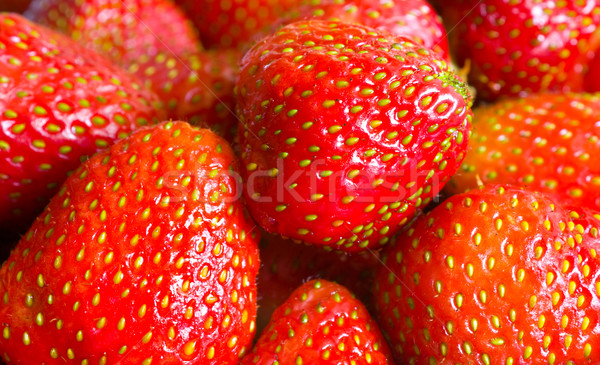 çilek arka plan yaz renk kahvaltı Stok fotoğraf © inoj