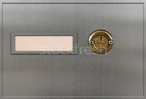 Sécurité dépôt cases métal sécurité boîte Photo stock © inxti