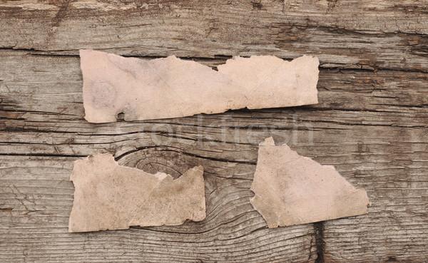 рваной бумаги место сообщение аннотация кадр Сток-фото © inxti