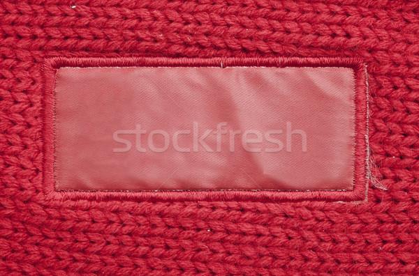 Label fragment textuur zuiver yo Stockfoto © inxti
