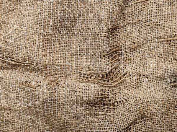 Fény természetes vászon textúra divat keret Stock fotó © inxti