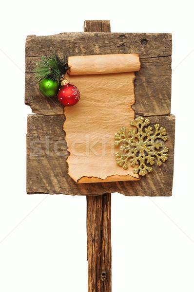 Stockfoto: Verweerde · christmas · decoratie · textuur · boom