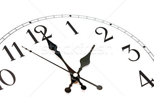 close-up  wall clock Stock photo © inxti