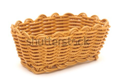 pile of wheat bran in basket Stock photo © inxti