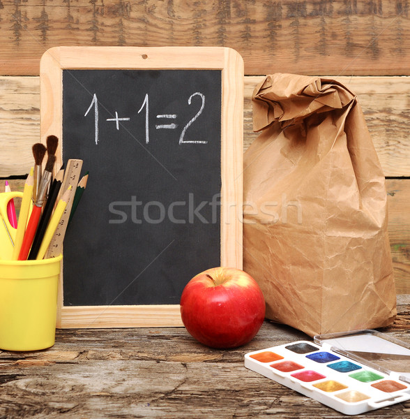 Back to school! Education concept!  Stock photo © inxti