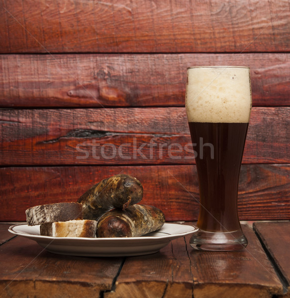 Grilled sausages Stock photo © inxti