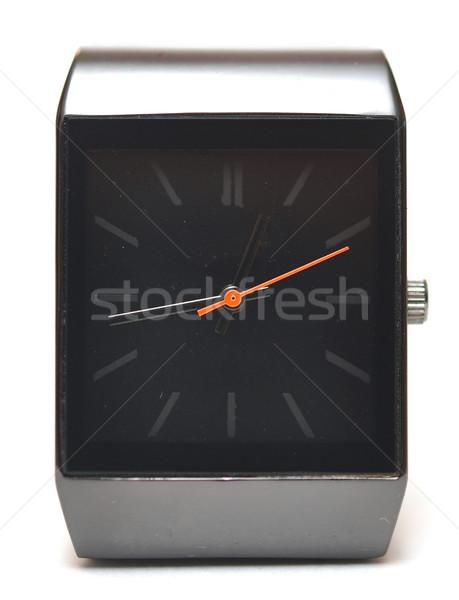 Karóra fehér arc óra háttér felirat Stock fotó © inxti