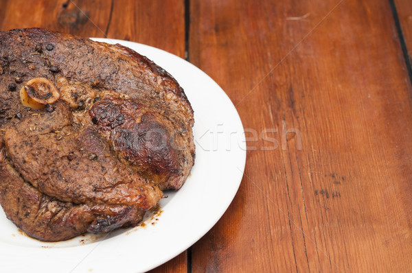 Grilled meat steak Stock photo © inxti
