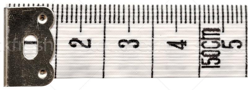 white measuring tape Stock photo © inxti