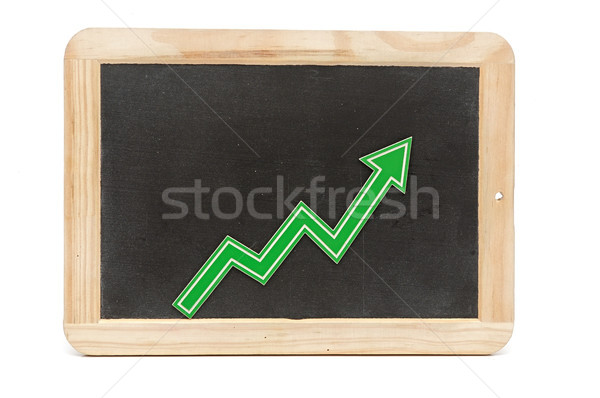 Bar graph of growth Stock photo © inxti
