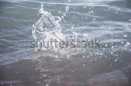 Bella view paesaggio marino acqua natura mare Foto d'archivio © inxti