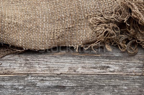 黄麻布 テクスチャ 木製のテーブル 木材 デザイン ファブリック ストックフォト © inxti