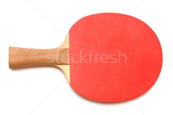 Masa tenisi yalıtılmış beyaz Stok fotoğraf © inxti