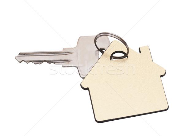 Ház kulcs izolált Fehér ház fehér ablak Stock fotó © inxti