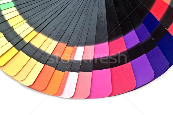 цвета направлять спектр радуга белый Сток-фото © inxti